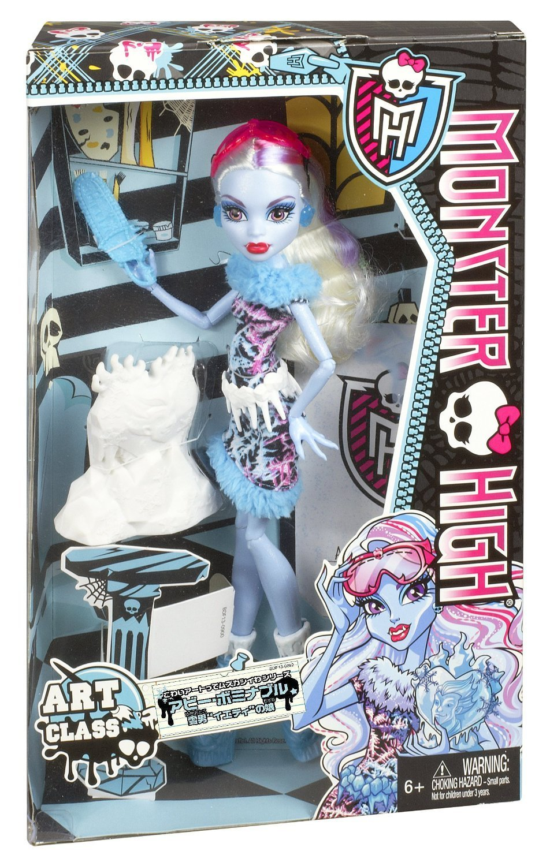 Monster high cours d 39 art plastique abbey bominable bdf13 - Poupee monster high 13 souhaits ...