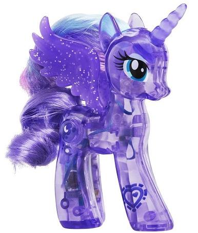 princesse luna lumineuse licorne violette explore equestria my little pony mon petit - Poney Licorne