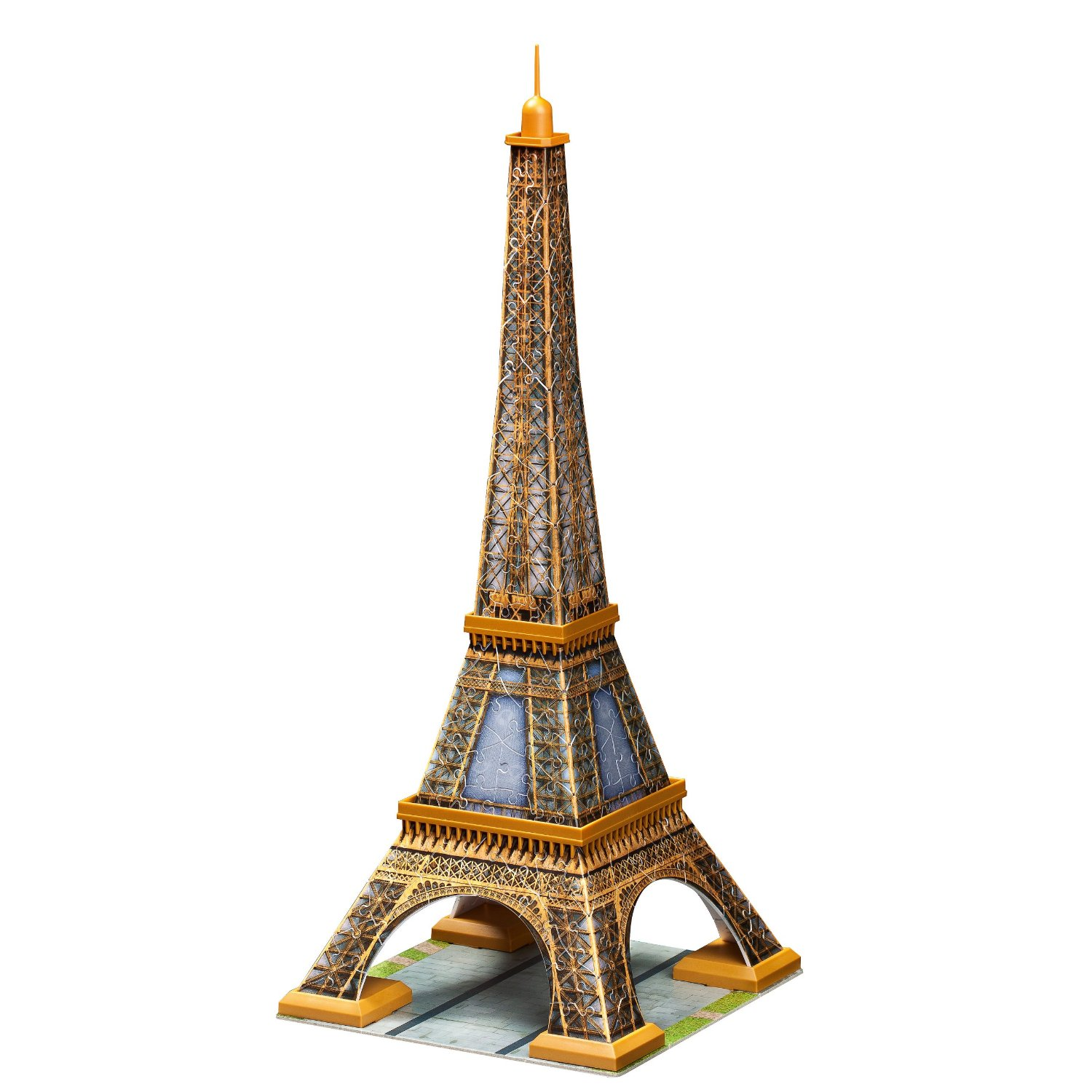 ravensburger 125562 puzzle 3d tour eiffel 216 pi ces. Black Bedroom Furniture Sets. Home Design Ideas