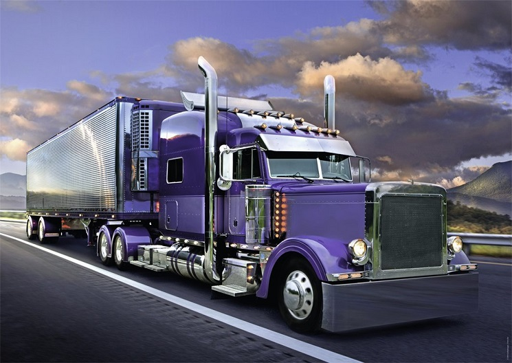 Nathan 87792 camion am ricain 1500 pi ces collection vasion - Dessin de camion americain ...