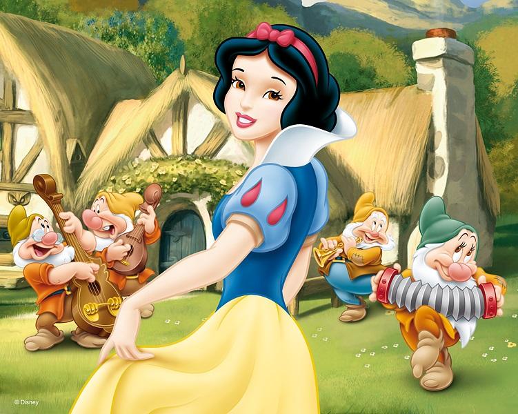 Trefi 35644 puzzle 3d enfant disney 120 pi ces blanche neige et les 7 nains - Animaux de blanche neige ...