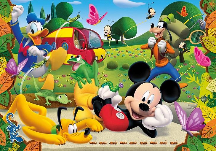 Clementoni 29699 puzzle 250 pi ces mickey pluto et dingo - Donald et dingo ...