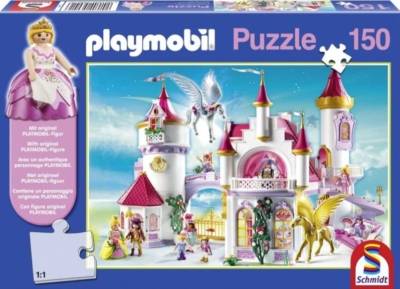 schmidt 56041 puzzle playmobil palais de la princesse 150. Black Bedroom Furniture Sets. Home Design Ideas
