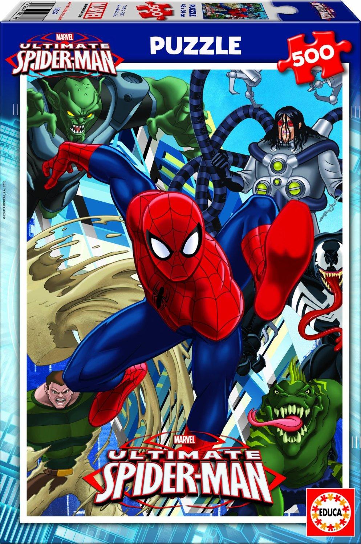 Educa 15559 Puzzle Enfant Ultimate Spider Man 500 Pi Ces Spiderman