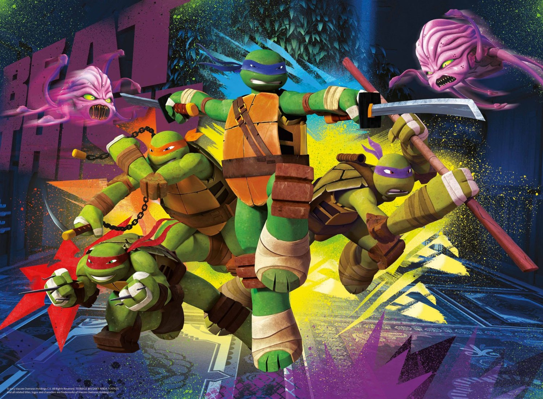 Ravensburger 100064 puzzle xxl enfant les tortues ninja for Repere des tortue ninja