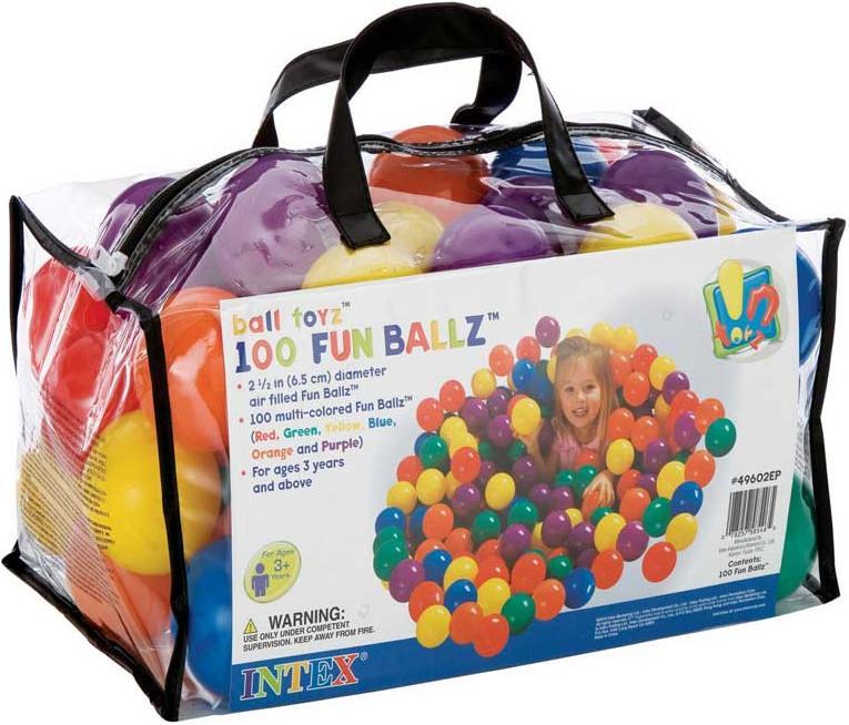 Balles pour piscine boules balles en plastique tente for Piscines a balles