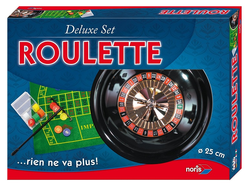 noris roulette 25 cm accessoires de jeu jouet coffret. Black Bedroom Furniture Sets. Home Design Ideas
