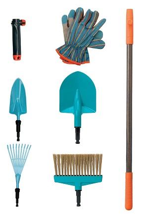 kit outils jardinage enfant gardena 7 pi ces jeux jouets. Black Bedroom Furniture Sets. Home Design Ideas