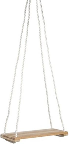 Si ge en bois avec cordes pour balan oire accessoires for Pelleteuse jouet exterieur