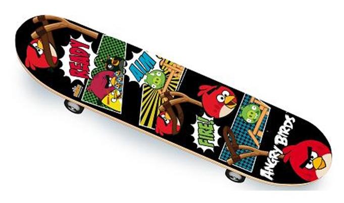 skateboard angry birds enfant jeux jouets sport glisse. Black Bedroom Furniture Sets. Home Design Ideas