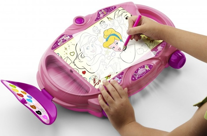 Projecteur dessin disney princess ardoise table tracer famosa - Dessiner des princesses ...