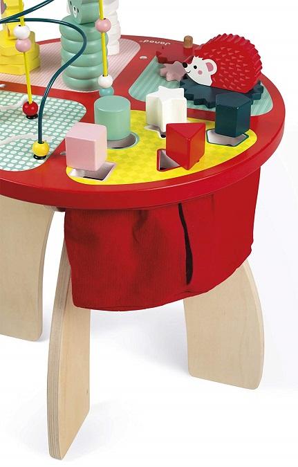 table d activit s baby forest en bois janod eveil b b. Black Bedroom Furniture Sets. Home Design Ideas