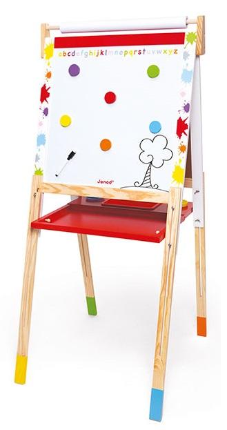 jouet janod tableau splash en bois pieds r glables. Black Bedroom Furniture Sets. Home Design Ideas