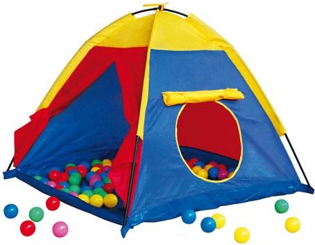 tente de jeu igloo avec 100 balles boules en plastique caverne des jouets. Black Bedroom Furniture Sets. Home Design Ideas