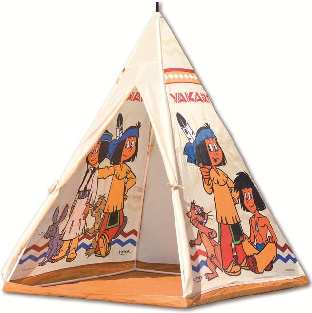 acheter tente tipi yakari cabane tente dindien tipi jouet tente dindien prix discount. Black Bedroom Furniture Sets. Home Design Ideas
