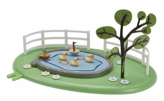 playset peppa pig la mare aux canards jeux jouets. Black Bedroom Furniture Sets. Home Design Ideas