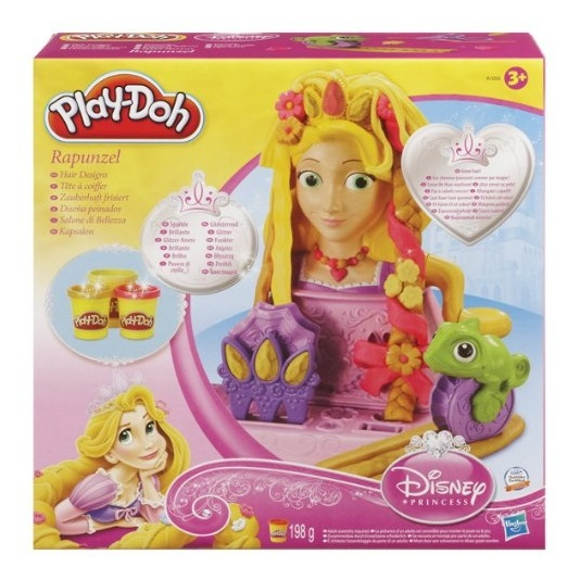 jouet pte modeler play doh tte coiffer raiponce disney. Black Bedroom Furniture Sets. Home Design Ideas