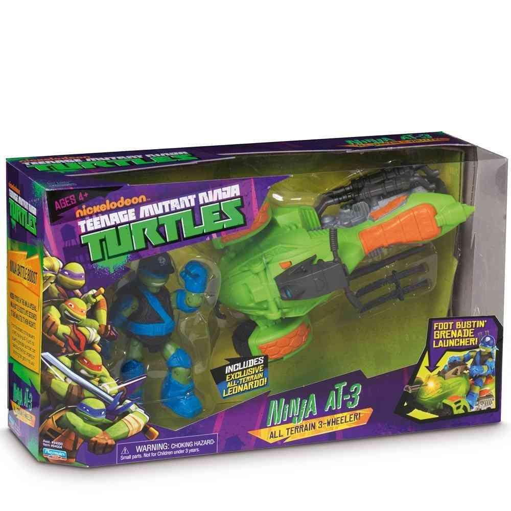 tout terrain de combat et leonardo les tortues ninja giochi preziosi