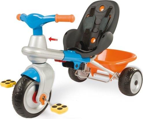 tricycle volutif 2 en 1 baby too cocooning smoby bleu 414203 jouet plein air 1er ge. Black Bedroom Furniture Sets. Home Design Ideas