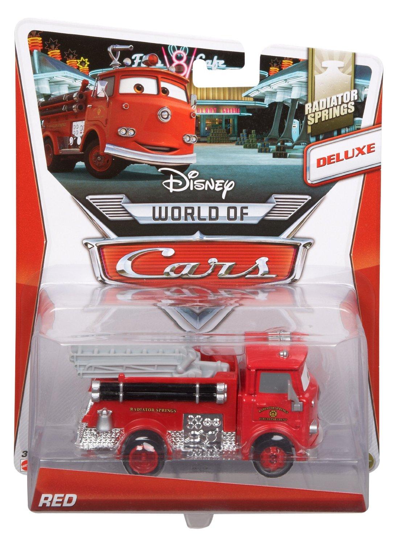Mattel bdw67 red voiture cars 2 camion pompier v hicule de - Camion pompier cars ...