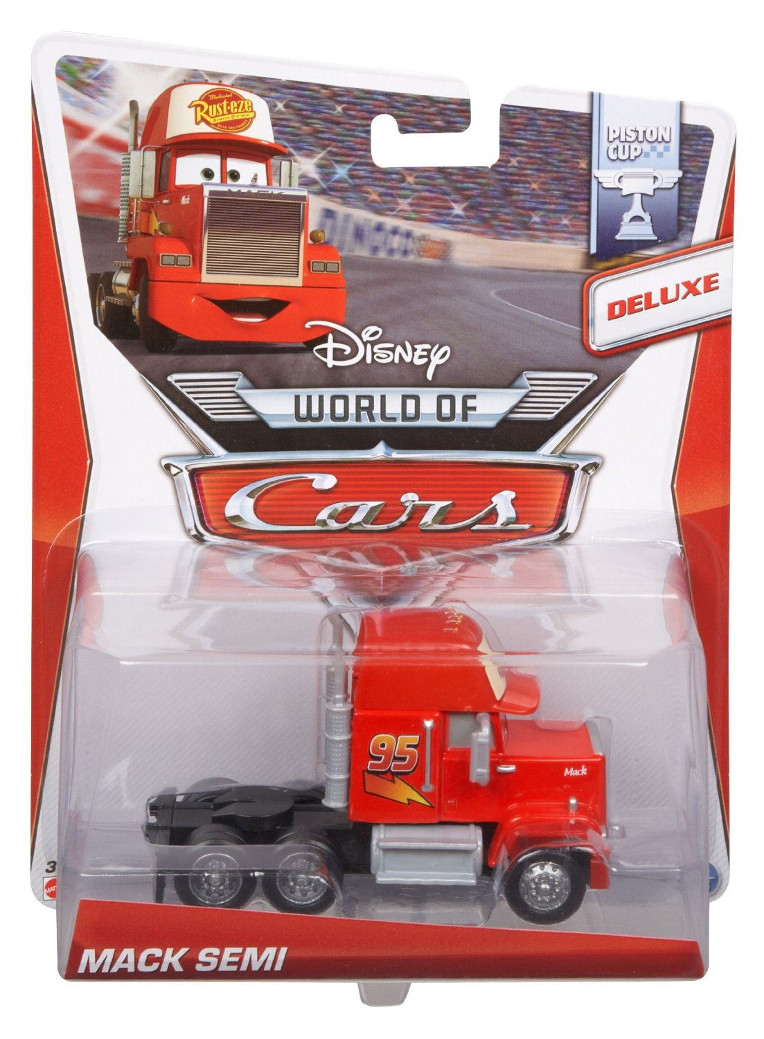 mattel bdw70 camion mack s rie luxe cars 2 v hicule miniature. Black Bedroom Furniture Sets. Home Design Ideas