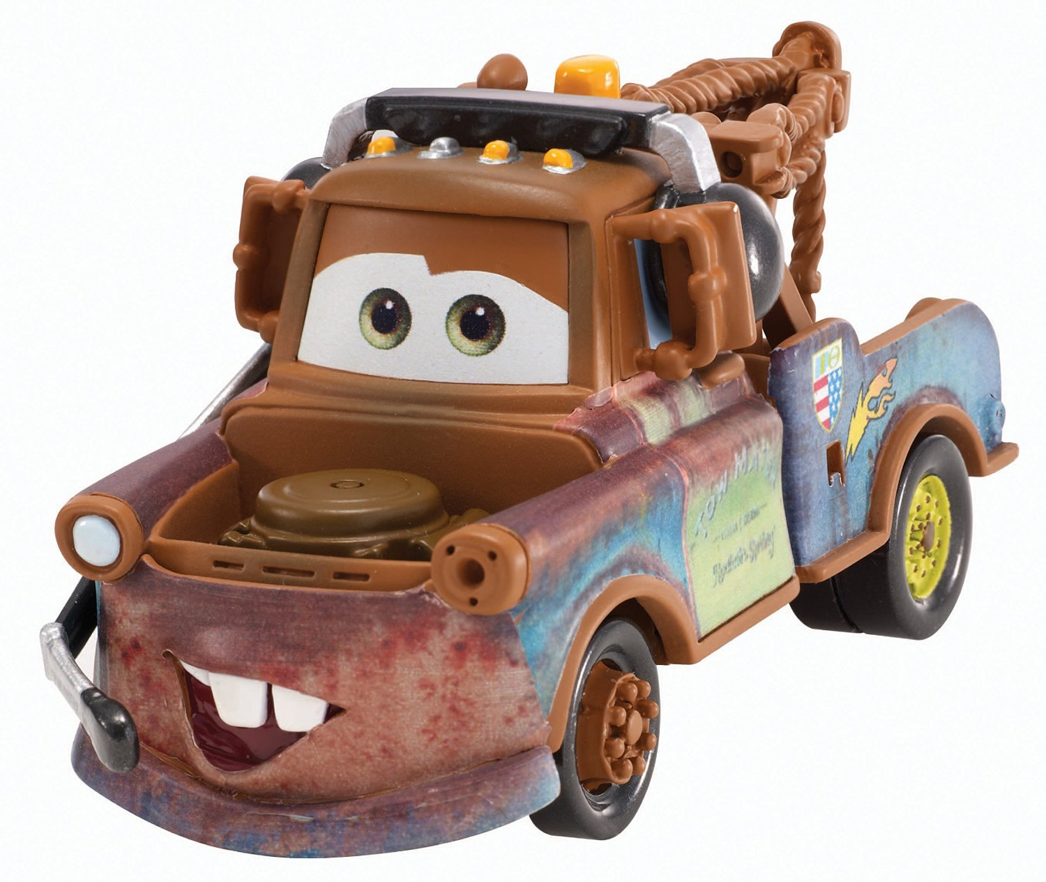 Cars Race Team Mater