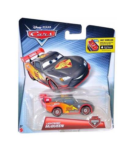 mattel dhm76 voiture cars carbon racers flash mcqueen v hicule rouge. Black Bedroom Furniture Sets. Home Design Ideas