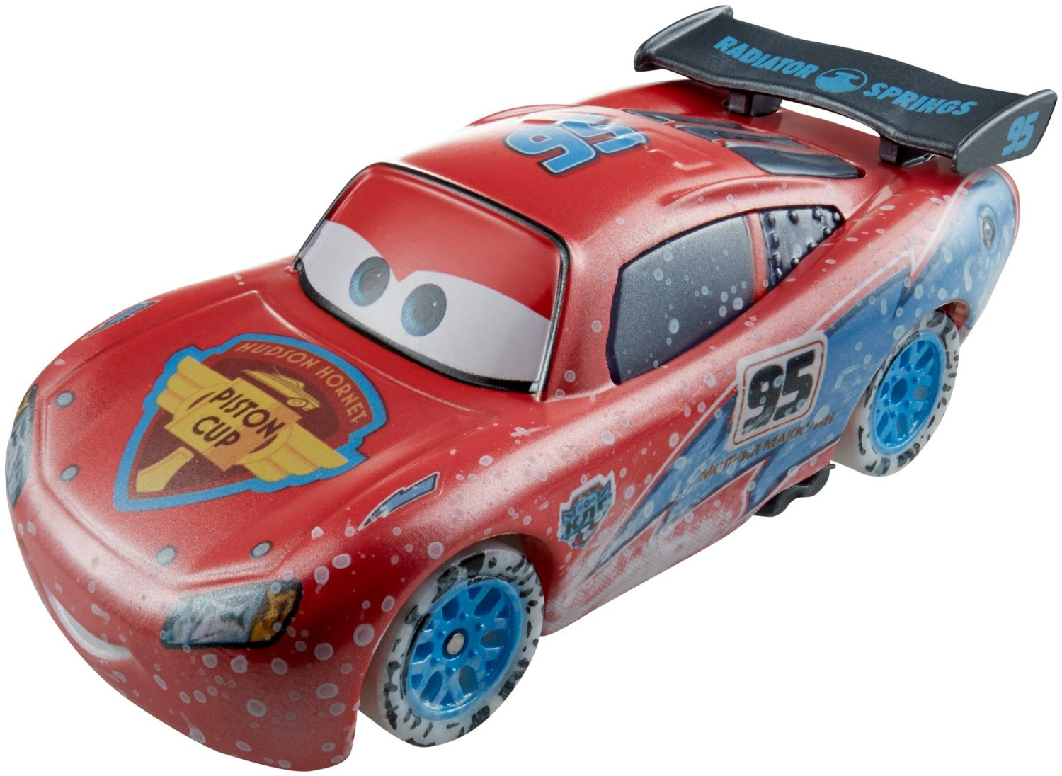 mattel cdr26 cars voiture flash mcqueen s rie ice racers disney pixar. Black Bedroom Furniture Sets. Home Design Ideas