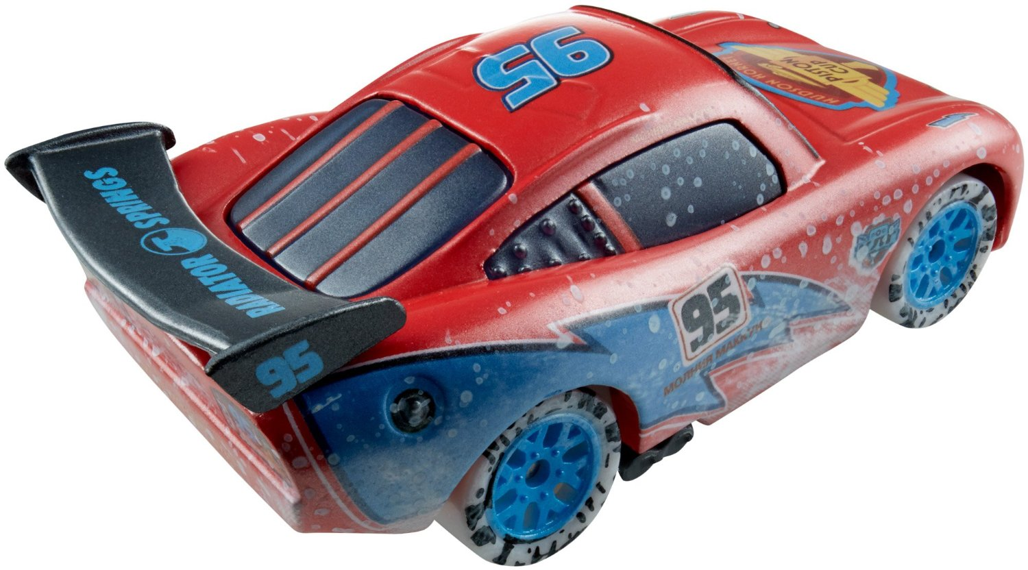 Mattel cdr26 cars voiture flash mcqueen s rie ice racers - Mcqueen flash mcqueen ...