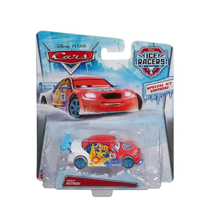 Cars Disney Série Racers Pixar Cdr33 Petrov Ice Mattel Vitaly Voiture D9IE2H