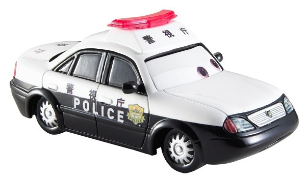 Dlj84 Mattel Miniature Véhicule Voiture Cars Patokaa De Police w8mNnv0