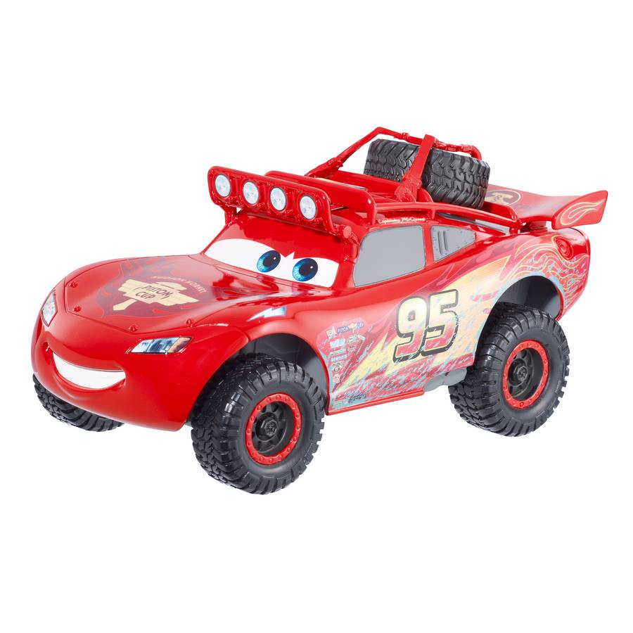 mattel bdf63 cars radiator springs 500 v hicule road flash mcqueen. Black Bedroom Furniture Sets. Home Design Ideas