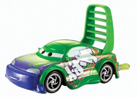 Mattel bhn61 voiture miniature cars v hicule wingo with flames verte - Coloriage cars wingo ...