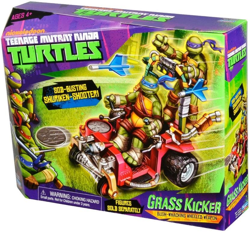 vehicule grass kicker pour figurine 12 cm les tortues ninja giochi preziosi