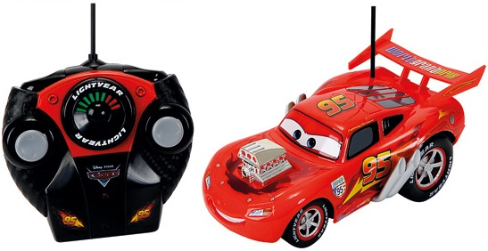 achetez rc hot rod flash mcqueen disney v hicule radiocommand. Black Bedroom Furniture Sets. Home Design Ideas