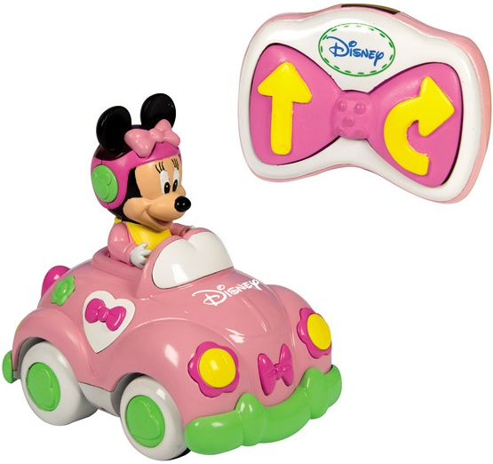 Voiture radiocommand e minnie disney baby premier ge - Voiture minnie ...