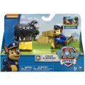 PAT PATROUILLE CHASE ET MARLEY LE MOUTON - FIGURINE CHIEN - PAW PATROL - SPIN MASTER - 20074194