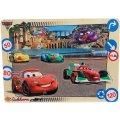 PUZZLE EN BOIS DISNEY CARS - 9 PIECES - EICHHORN - PUZZLE A ENCASTRER - PUZZLE AVEC BOUTONS