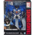 TRANSFORMERS GENERATIONS THUNDERCRACKER - COMBINER WARS - ROBOT BLEU - HASBRO - B1800