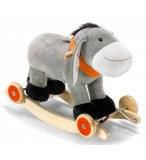 ANE A BASCULE A ROULETTES PELUCHE FRITZ - BAYER - CHIC 2000 - 40004 - BASCULANT BEBE