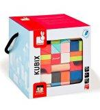 BARIL KUBIX 100 CUBES EN BOIS - JANOD - J08061 - JEU DE CONSTRUCTION