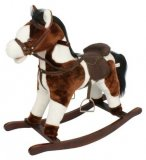 CHEVAL A BASCULE PELUCHE JACKY - BAYER - CHIC 2000 - 40501