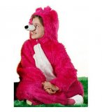 DEGUISEMENT OURS ROSE 4 ANS ENFANT - ANIMAL - COSTUME