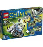 LEGO CHIMA 66491 SUPER PACK 5 EN 1 : 70126 - 70128 - 70129 - 70130 - 70131