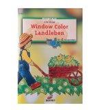 LIVRE WINDOW COLOR - LE JARDIN - MOTIF PEINTURE POUR FENETRE