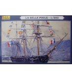 MAQUETTE BATEAU LA BELLE POULE - ECHELLE 1/200 - HELLER - 80838