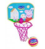 MINI PANNEAU DE BASKET PEPPA PIG + BALLE - SET BASKETBALL ENFANT