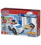 PATROUILLE DE POLICE - BLOK TOWN - MEGA BLOKS - 362 - JEU DE CONSTRUCTION