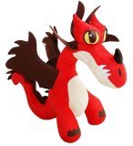 PELUCHE DRAGON ROUGE HOOKFANG - DRAGONS - 29 CM - SPIN MASTER - 760013261A
