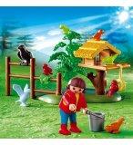 PLAYMOBIL FORET 4203 ENFANTS / OISEAUX / NID